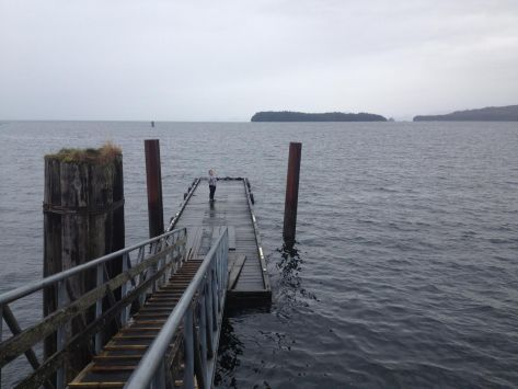 January 2015 seawater sample to be returned to the University of Victoria for processing.