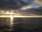 Sunrise over the NE Pacific